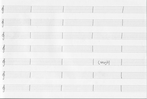 variation on John Cage's 4:33